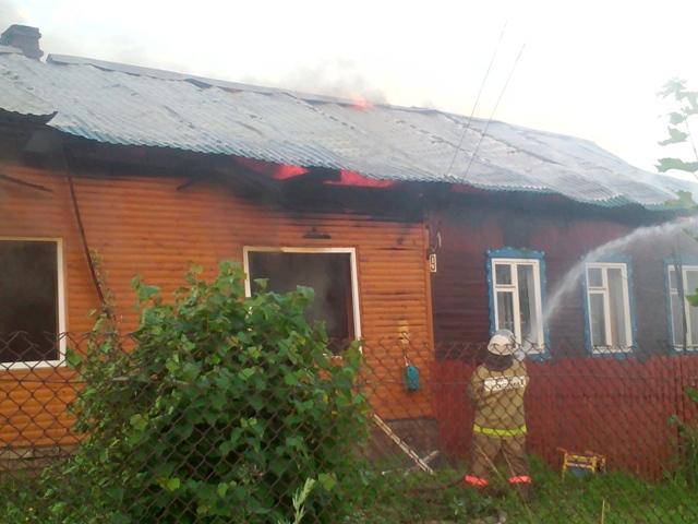 Подробности пожара в Островском районе