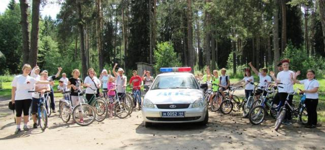 22 июня в Островском состоялся велопробег «Дорогами памяти»