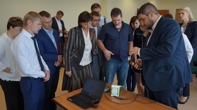 В Липецком отделении ПАО Сбербанк предпринимателям представили новую систему автоматизации торговых точек