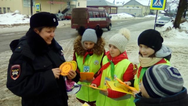 В рамках Всероссийской социальной кампании «Сложности перехода» в поселке Островское прошла акция.