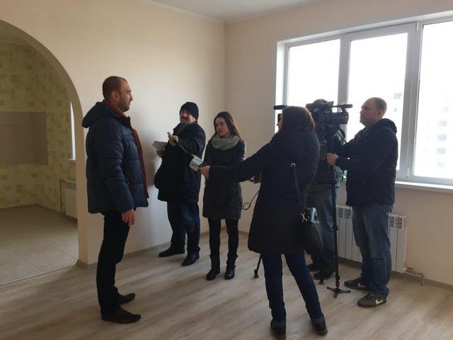 Центрально-Черноземный банк ПАО Сбербанк провел серию пресс-туров по новостройкам региона