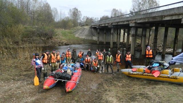 Сплав по реке Мера из Юрьево Островского района до Ивановской области