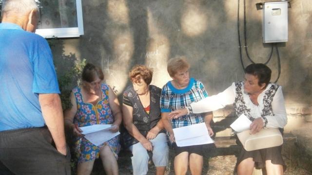Состоялись встречи главы Островского (центрального) сельского поселения с населением