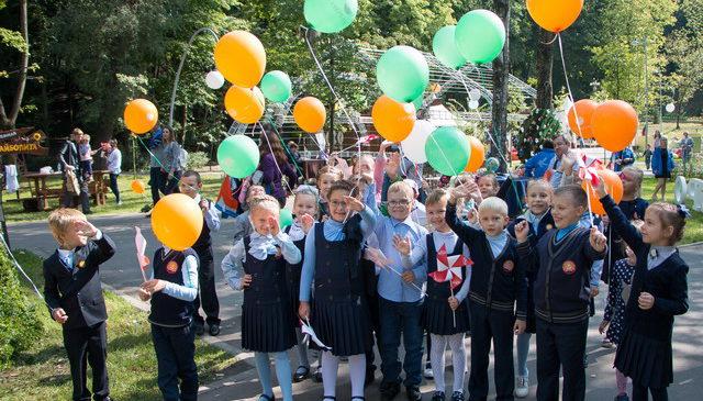 Сбербанк представил на фестивале «Город-сад» экологичный офис