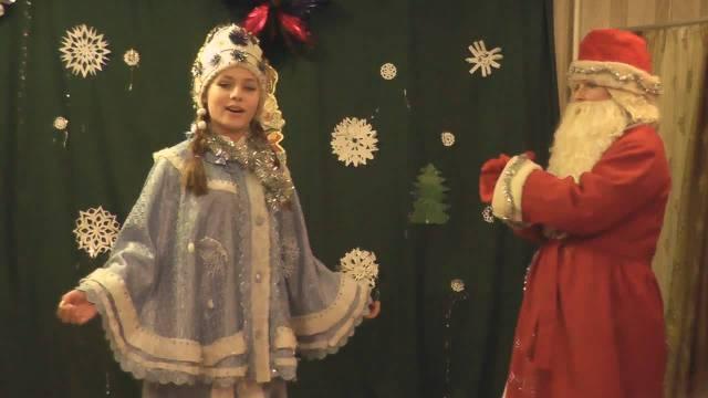 Наступающий Новый год весело и ярко отметили в селе Юрьево