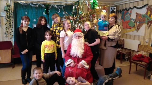 В селе Юрьево прошла новогодняя ёлка для детей и их родителей