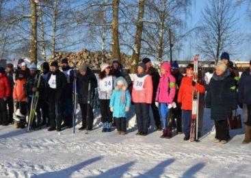 В Островском прошли соревнования на призы главы Островского района по зимним видам спорта