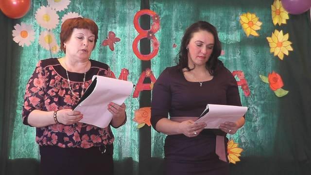 Для прекрасных дам. В селе Юрьево состоялся праздничный концерт к 8 Марта