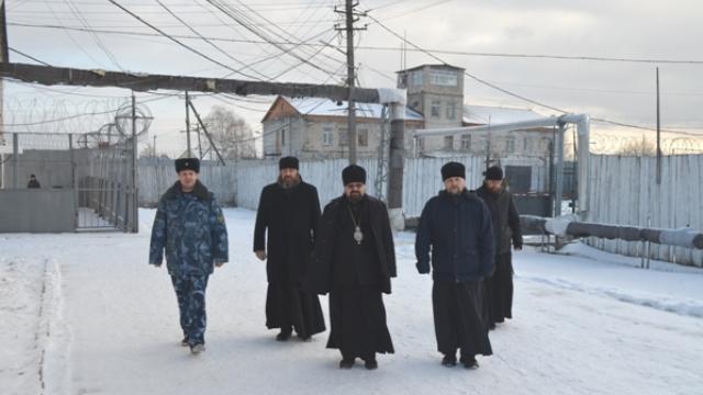 Островскую колонию впервые посетил епископ Галичский и Макарьевский Алексий